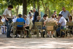 Chess in Jardin Du Luxembourg